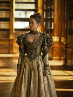 Alexandra Dowling as Queen Anne inThe Musketeers (TV Series, 2014).
