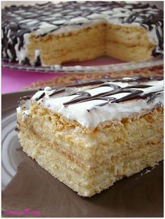 I have prepared this cake for my son. Those who eat, especially my father, grow … - Easy Cake Recipes, Sweet Recipes, Dessert Recipes, Oreo Desserts, Pasta Cake, Russian Cakes, Yummy Food, Tasty, Recipe Mix