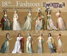 Make your Georgian dress like a pro! 18th Century Dress, 18th Century Costume, 18th Century Clothing, 18th Century Fashion, 19th Century, Historical Costume, Historical Clothing, Mode Rococo, Rococo Fashion