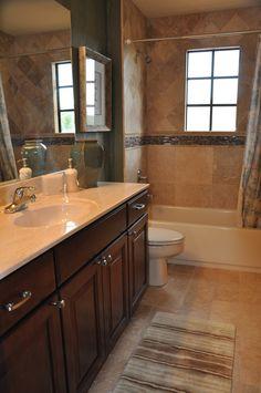 A bathroom restore we accomplished!