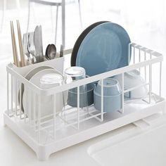 Dish Drying Rack Walmart Prepossessing Simplehuman Compact Dish Drainer Grey  Dish Drainers Greys Online Inspiration Design