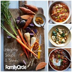 Take a bite out of one of our hearty, healthy and EASY winter soups and stews!
