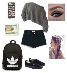 """"""" fashion 307 """" by veronicaleigh777 on Polyvore featuring MANGO, Vans, adidas Originals and JFR"""