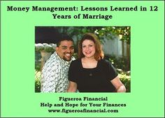 Now on the blog: Money Management: Lessons Learned in 12 Years of Marriage #marriageandmoney