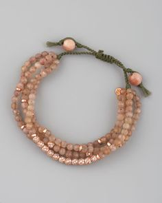 Four-Strand Agate Bracelet by Tai at Neiman Marcus.