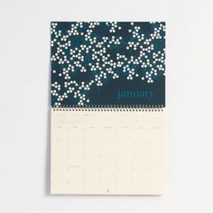 Bring the garden indoors and delight in the unique floral illustrations of designer Snow & Graham. Spiral bound with monthly grid format that makes marking important dates a breeze. Made in the USA.<b
