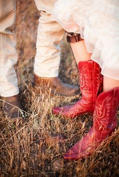 7 Best Wedding Dress With Red Cowboy Boots Images Red Cowboy