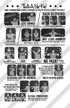 Ref signals - useful guide via texas rollergirls website!