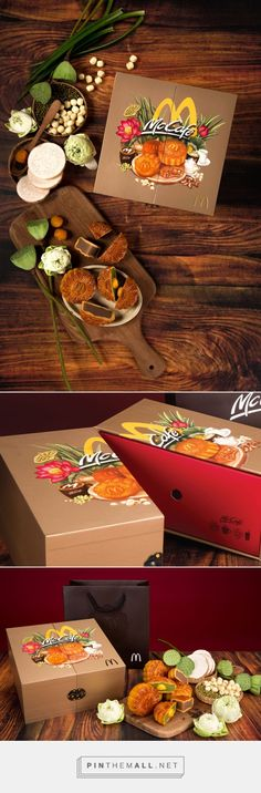 McDonald's Vietnam - Mooncake Box 2017 - Packaging of the World - Creative Package Design Gallery - http://www.packagingoftheworld.com/2017/08/mcdonalds-vietnam-mooncake-box-2017.html