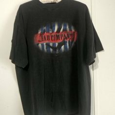 c6c26d35c1a Bad Company XL 1995 black concert tour t-shirt. Vintage - Depop Tour T