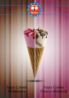 Don't choose one have both. There can be nothing better than pair up strawberry and chocolate. Keep Calm & Havmor ice cream