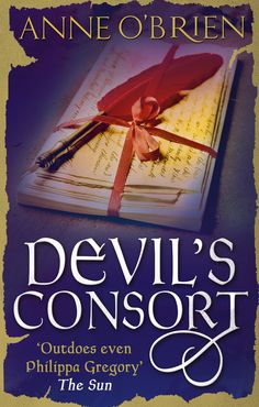 And finally - the new cover work for my novel of Eleanor of Aquitatine, Devil's Consort, from January 2015, to complete the sextet.  www.anneobrien.co.uk