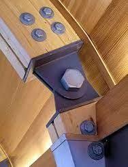 Imagini pentru connecting wood beams
