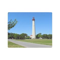 #Posters #Metal #Art - #Cape May Lighthouse Metal Print