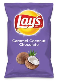 Wouldn't Caramel Coconut Chocolate be yummy as a chip? Lay's Do Us A Flavor is back, and the search is on for the yummiest flavor idea. Create a flavor, choose a chip and you could win $1 million! https://www.dousaflavor.com See Rules.