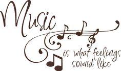 ♪ Music is what feelings #soundslike ♪♪
