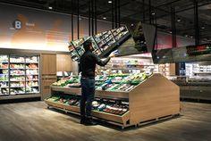 """""""未来型スーパーマーケット""""がミラノにオープン"""