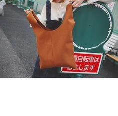 Center Seam Shoulder Bag   STYLENANDA
