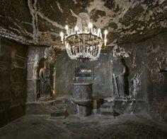 Salt Mines poland   Salt mine, Wieliczka, Poland