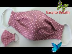 Breathable Face Mask Sewing Tutorial   How to make a Face Mask   Home made Face Cover   mascarilla  <br> Sewing Tutorials, Sewing Patterns, Mask For Kids, Kylie Jenner, Easy Diy, Homemade, Cover, How To Make, Fun