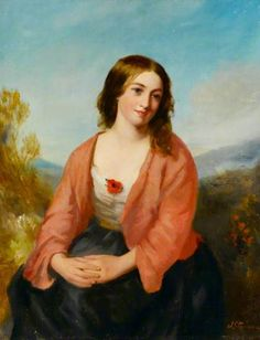 Young Woman in a Pink Dress J. Stannier