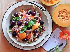 Verão pede saladas frescas... Frango e Frutas!