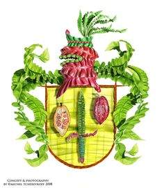 Royal Garden Crests on Digital Art Served
