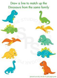 Dinosaur triceratops or Any theme Printable Personalized Activity sheet party favor Digital Printable DIY file Dinosaur Activities, Dinosaur Crafts, Dinosaur Theme Preschool, Unicorn Diy, Baby Dinosaurs, Dinosaur Birthday Party, Activity Sheets, Colorful Party, Felt Animals