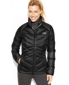 Women's Halogen Hooded Quilted Down Jacket | Jackets, Down jackets ...