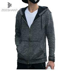 c4704cfc3b3 ZEESHANT S XL Men Hoodies Brand Jersey High Quality Men Sweatshirt Hoodie  Casual Zipper Hooded Jackets Male Sudaderas Hombre-in Hoodies & Sweatshirts  from ...