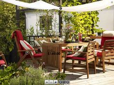 Ext rieur on pinterest ikea ikea patio and sail shade - Ikea table exterieur ...