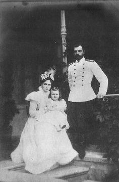 Nicholas, Alix, Olga.
