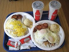 Cafe 100 in Hilo is a great place to get good cheap eats. They have many, many menu choices, but we had to have one of their Loco Mocos. What's a Loco Moco? It's a local dish you'll find throughout Hawaii. It usually includes generous scoops of rice, eggs, hamburger patty, and brown gravy. We...