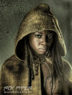 The Walking Dead: Michonne: HDR Redux (Ver. 2) by nerdboy69 on DeviantArt