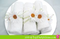 Spa party -- all kinds of ideas for a spa party, including decor, activities, food, and recipes -- for food and spa treatments.