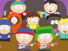 guitar hero episode on South Park Best Tv Shows, Favorite Tv Shows, Favorite Things, South Park Episodes, Eric Cartman, Animated Cartoons, Comedy Central, Episode 5, Anime Style
