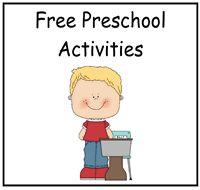 "Preschool Activities    Preschool activities that include ""Make a Match"" printable books, file folder games, and preschool activities mats."