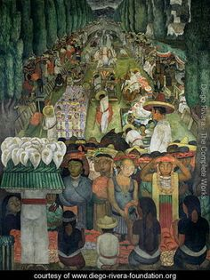 """Anyone who has seen the movie """"Frida"""" knows this iconic figure: a man politically active, free-thinker and with a antireligious posture, Diego Rivera had acorpulentphysique …"""