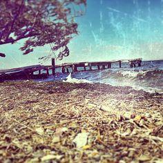 Town of beach in çanakkale