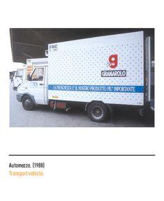 Marchio Granarolo - Automezzo 1988 Transportation, Trucks, Vehicles, Logo, Museum, Truck, Car, Vehicle, Tools