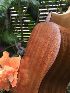 Mahogany back and sides. Maple/ebony purfling and Aus Blackwood heel cap.