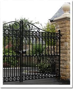 Image Detail for - Architectural Stone | Heritage Cast Iron | Cast iron gates, fencing ...