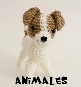 An original crochet amigurumi Jack Russell Terrier dog pattern from the AmiDogs range by June Gilbank. Jack Russell Terriers, Chien Jack Russel, Crochet Dog Patterns, Amigurumi Patterns, Harry Potter Christmas, Dog Crafts, Crochet Instructions, Free Crochet, Dog Crochet