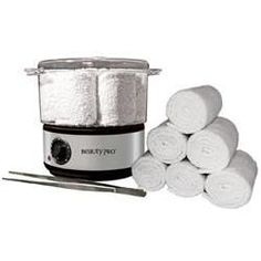 Beauty Pro Hot Towel Steamer Kit, creates hot, moist towels for a variety of applications for the professional beauty and spa industry. Massage Room Decor, Spa Room Decor, Massage Therapy Rooms, Massage Room Design, Sala Facial, Privates Nagelstudio, Spa Treatment Room, Spa Treatments, Esthetics Room