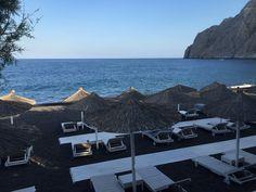 Top 5 Places to Visit in Santorini, Greece - Kamari/ Black Beach