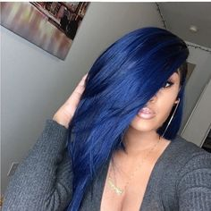 Online Shop Ombre hair color sew in human hair bundles and closure and frontal for brunettes colored hair for black off promotion factory cheap price,DHL worldwide shipping, store coupon available. Love Hair, Gorgeous Hair, Weave Hairstyles, Pretty Hairstyles, Blue Hairstyles, Black Women Hairstyles, Straight Hairstyles, Short Hair Styles, Natural Hair Styles