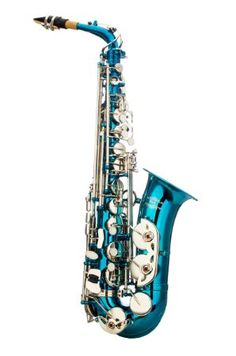 Amazon.com: Glory Light Blue/Silver keys E Flat Alto Saxophone with 11reeds,8 Pads cushions,case,carekit-More Colors with Silver or Gold keys: Musical Instruments More
