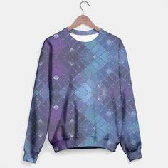 Diamond Pattern Mosaic Glass Sweater2, Live Heroes Diamond Pattern, Mosaic Glass, Hoodies, Sweatshirts, Fashion Outfits, Tank Tops, Live, Stylish, Sweaters