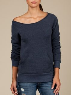 FTLA Apparel Eco Fleece Off the Shoulder Sweatshirt – Don't Be Sorry, Do Something! - The Animals