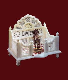 Online shopping of God Marble Temple and Mandir for hindu god - goddess. Please send us quotation request. Mandir Design, Puja Room, Chip Carving, New Beds, Altars, My Room, Quotation, Oreo, Temple